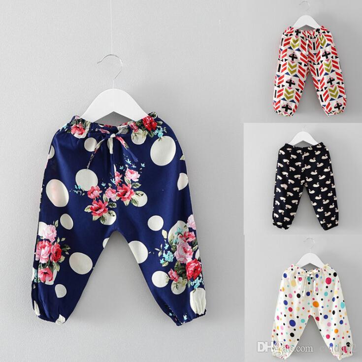 Compre Ropa Para Niños Bebé Pantalones Lindos Impresión Pantalones Para Niños  Pantalones 3 Tipos Pantalones Para Bebés A  10.66 Del Cinda02  42247922fe01