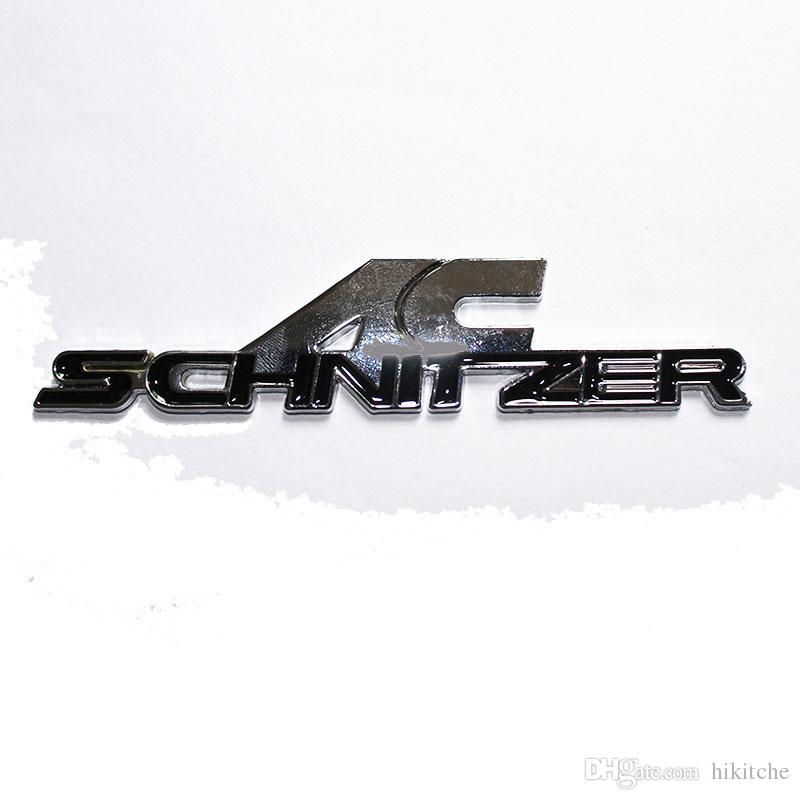 3d المعادن ac شنيتزر سيارة شعار شارة شعار ملصقات السيارات سيارة صائق 3 متر الغراء لسيارات bmw ملصقات السيارات التصميم