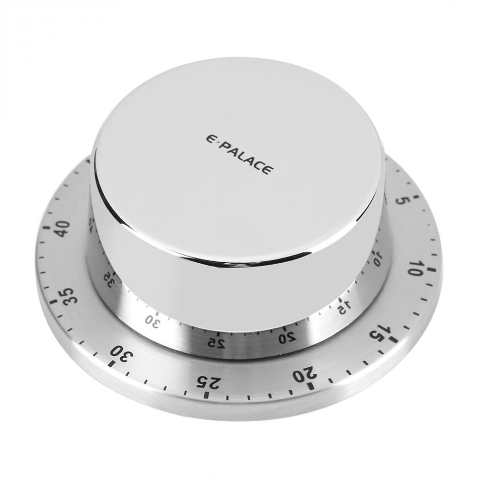 Timer da cucina in acciaio inossidabile con base magnetica Manuale di  cottura meccanico Timer Conto alla rovescia Utensili da cucina Gadget da  cucina