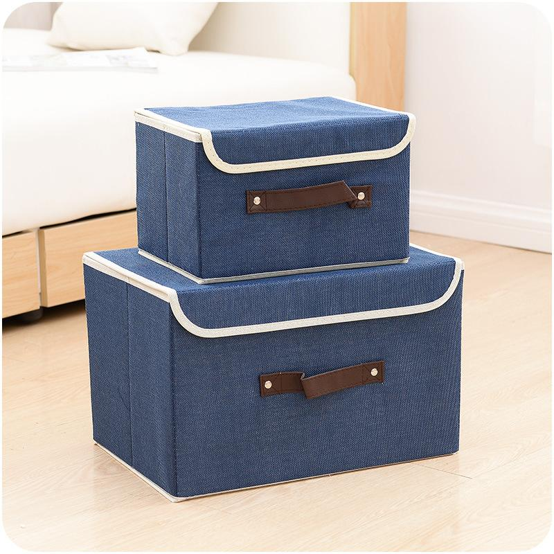 Ordinaire 2018 New High Quality Flax Color Convenient Folding Storage Box Toy  Finishing Box Sorting Clothing Bags Storage Bag From Huojuhua, $22.42 |  Dhgate.Com