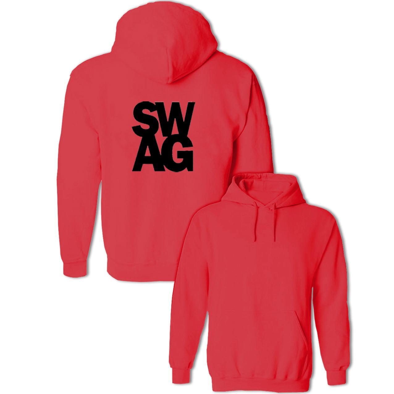 Compre Divertido Símbolo SWAG Sudaderas Con Capucha Para Hombres ... a0a39eb1f22