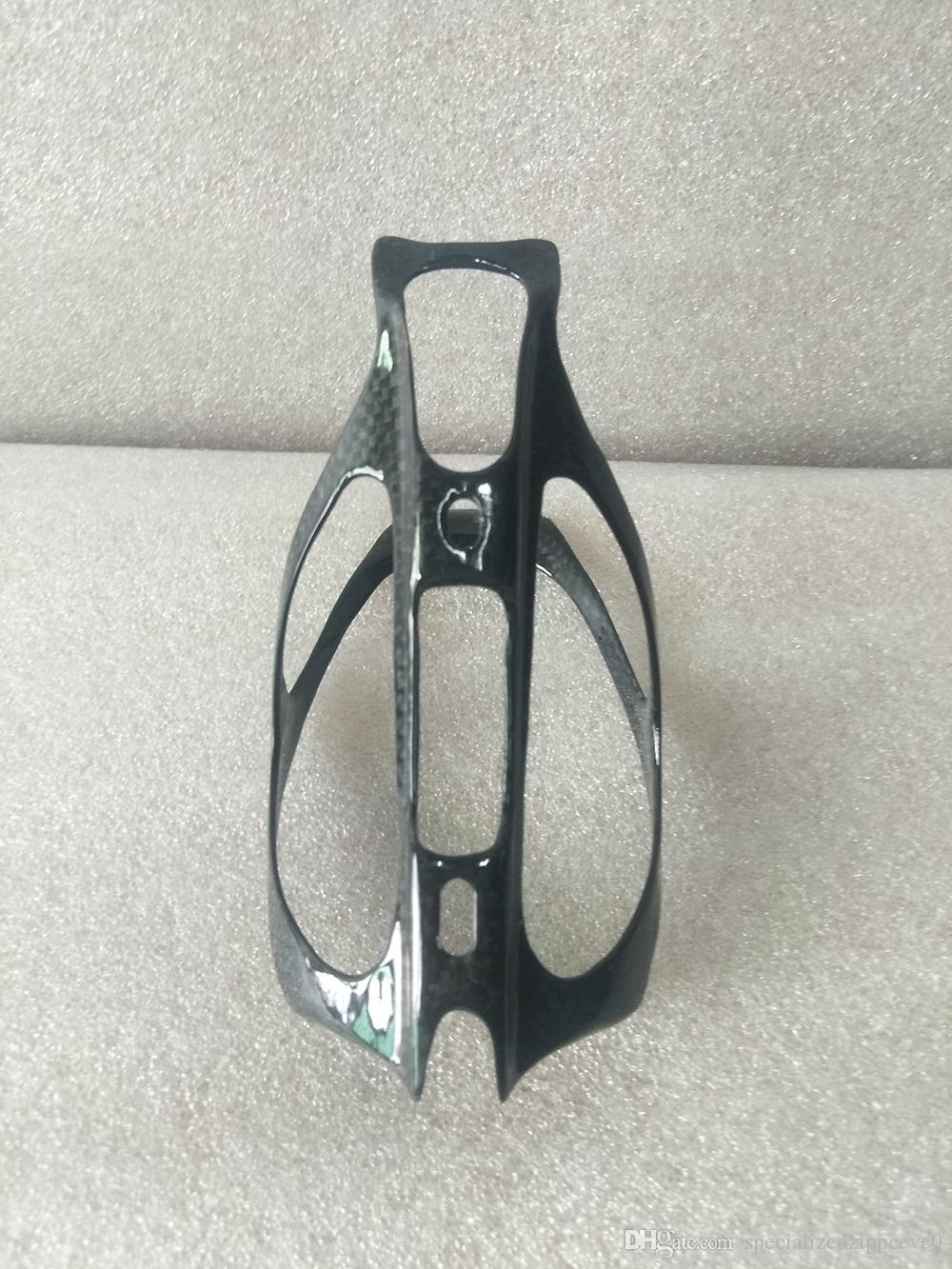 Bicycle Bottle Holder Mountain Bike Cycling Bike Glass Fiber Water Bottle Holder Carriages With 2 Screws Carbon Bottle Cage 25g