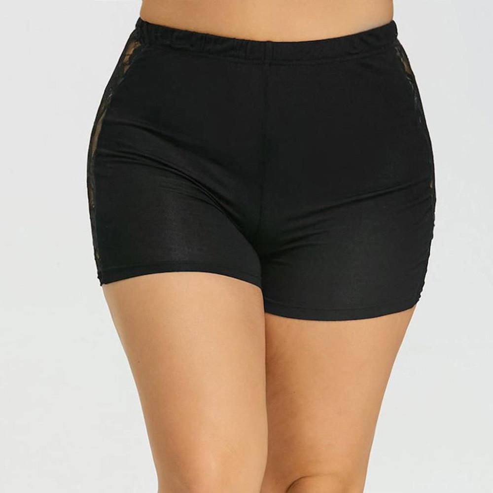8d06e0b9f01b4c Été rue mode shorts femmes jupes à étages jupe courte sous sécurité lâche  solide coton doux casual courte femme