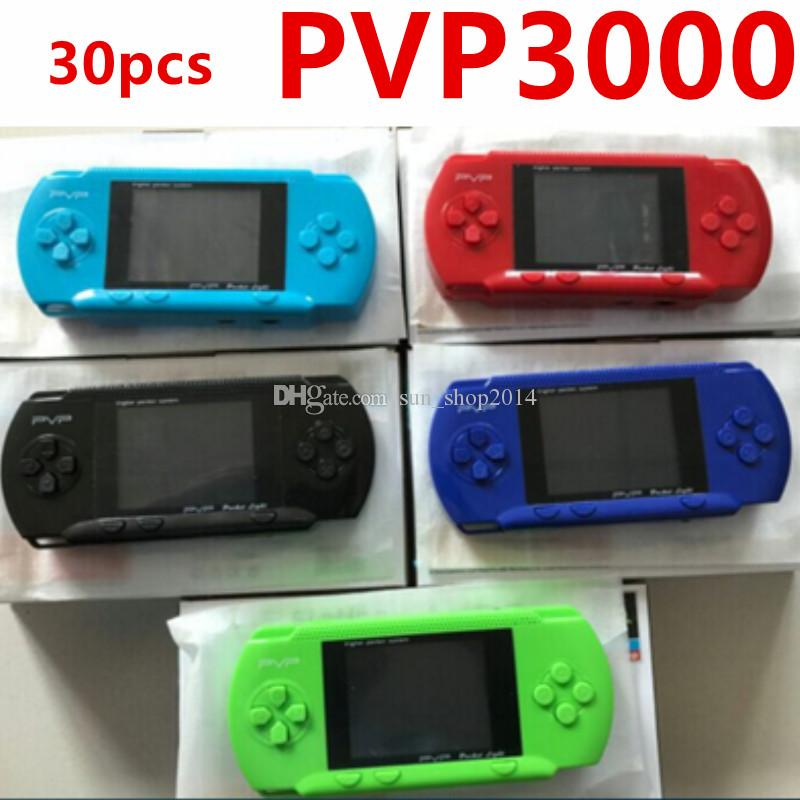 Game Player PVP 3000 (8 Bit) 2.5 Inch LCD Screen Handheld Video Game Player Consoles Mini Portable Game Box Also have PXP3