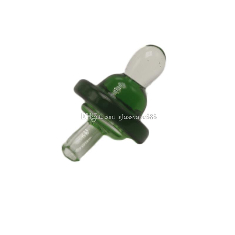 Colorful Glass Cap Banger Bubble Carb Cap Hat Style Dome For Glass Thermal Pipes Banger Nails Dabber Glass Bongs Dab Oil Rigs
