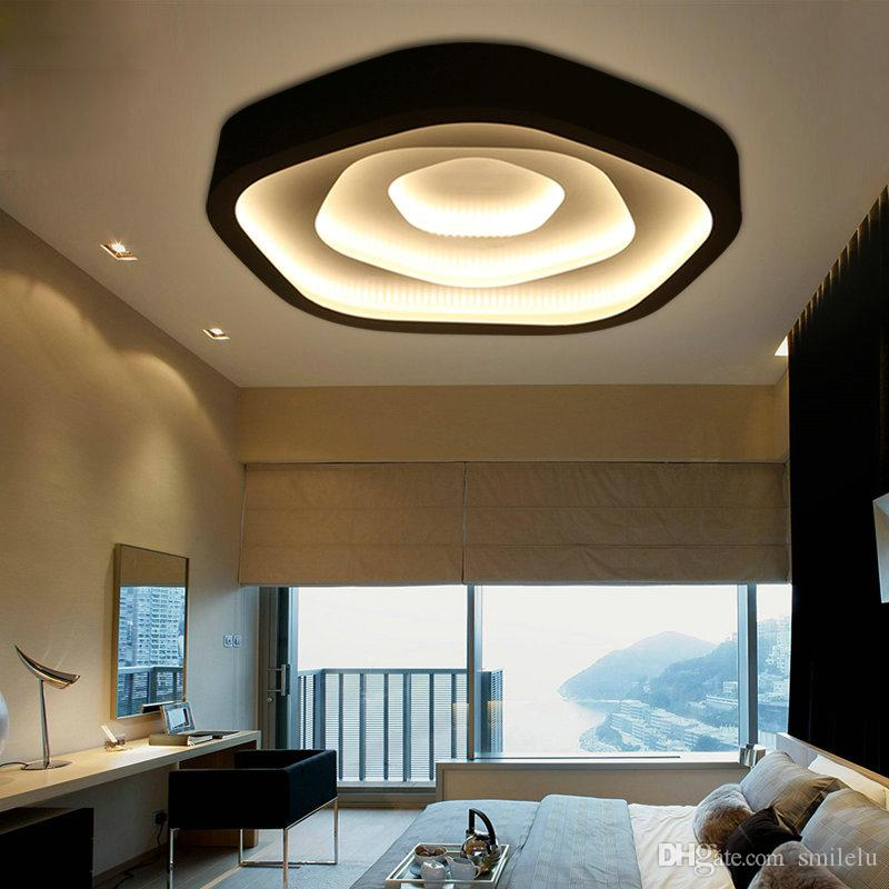 Led Wedding Room Master Bedroom Light Simple Modern Warm And Romantic Creative Room Ceiling Lighting Nordic Living Room Led Ceiling Lamps