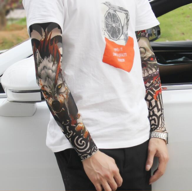 2018 Tattoo Sleeve Arm Sleeves To Cover Tattoos Uv Protection ...