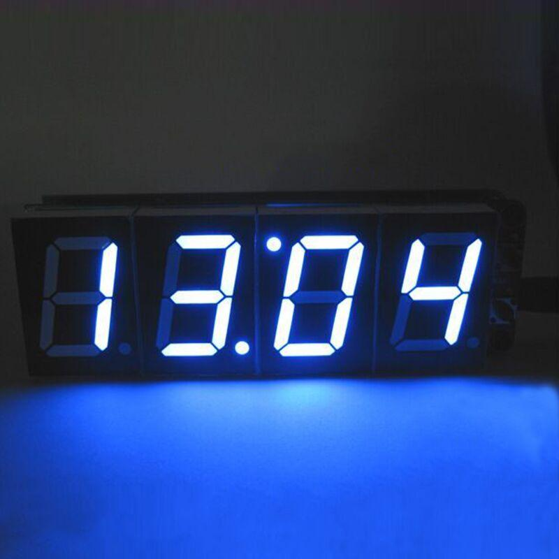 6e6aa596df8c Compre 1 Pulgada 4 Bit Tubo Digital LED Reloj Kit LED Módulo De Pantalla  Azul Pantalla De 4 Dígitos Reloj Despertador Electrónico Kit DIY Para  Arduino A ...