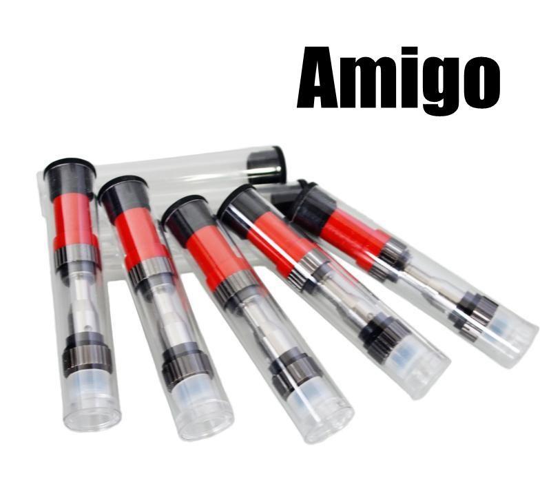 Amigo Liberty 1 Serbatoio dell'olio denso Atomizzatori Touch Pen Vaporizzatore Serbatoio in vetro 510 Cartuccia 0,5 ml Serbatoio in vetro da 1,0 ml