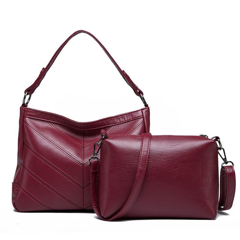 11baf00453e6 Women Shoulder Bags Designer Leather Women Brand Handbags High ...
