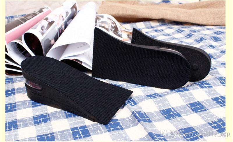 Увеличение обуви pad дышащий съемный невидимый обуви лифт половина Ярда pad Высота увеличение пятки колодки мужчин и женщин стельки
