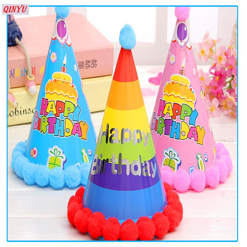 fashion birthday festival decorations hat children gift party