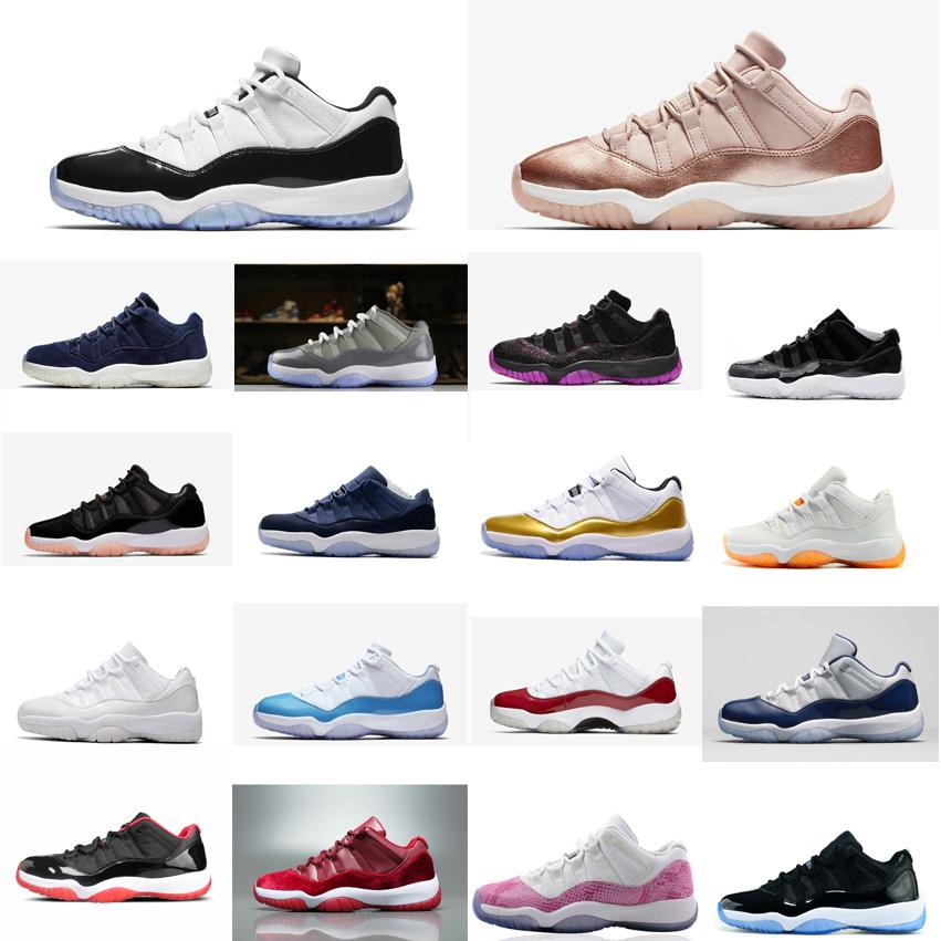 factory authentic 5c95b 3e49d Retro womens 11s low basketball shoes for sale j11 Closing Ceremony Easter  Concords UNC Boys Girl Youth Kids Jumpman 11 XI sneakers with box
