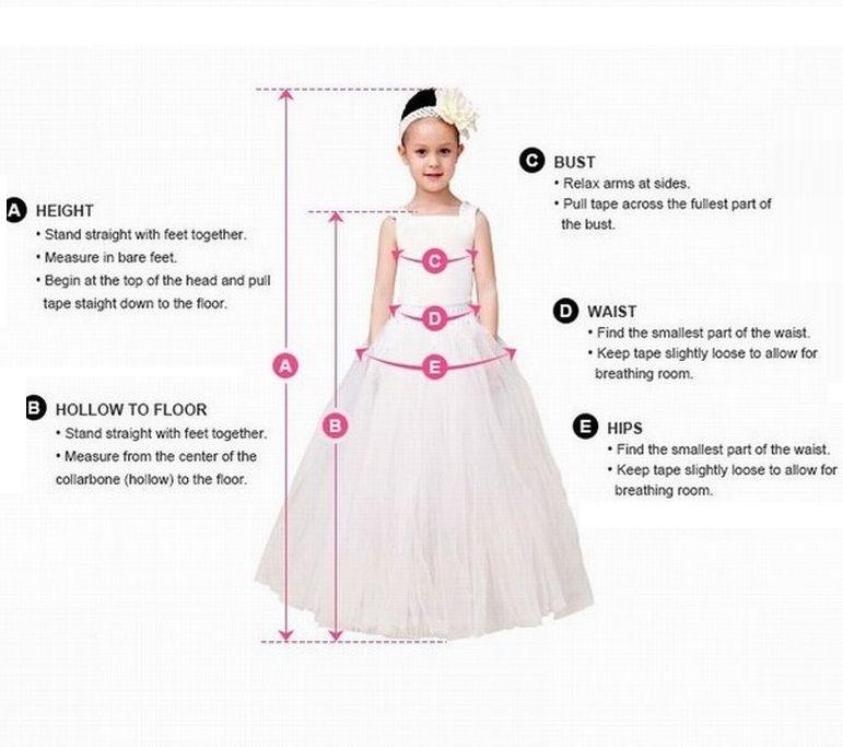 New Pincess Pageant Flower Girl Dresses Wedding Party Dress Kids Special Occasion Dress Children Performance Dresses GHTZ440