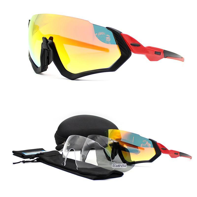 e69251e763 2019 2018 3 Lens Outdoor Cycling Glasses Mountain Bike Goggles Bicycle  Sport Sunglasses Men Women Outdoor Cycling Eyewear From Gqinglang