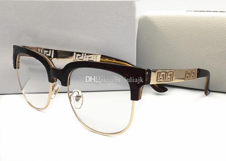 Sommer Stil Italien Marke Medusa Sonnenbrillen Halbbild Frauen Männer Marke Designer UV-Schutz Sonnenbrille klare Linse und Beschichtung Linse Sunwear