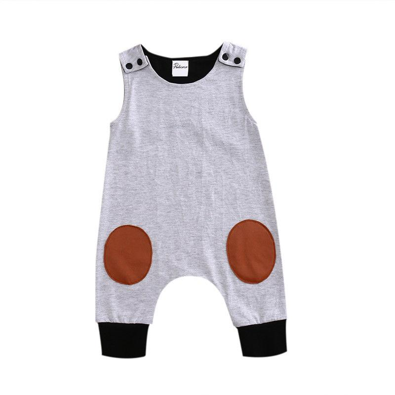 3666134b194 2019 Toddler Infant Newborn Baby Kids Boy Girl Romper Jumpsuit Cotton Soft  Clothes Sleeveless Outfit One Piece Set From Bdshop