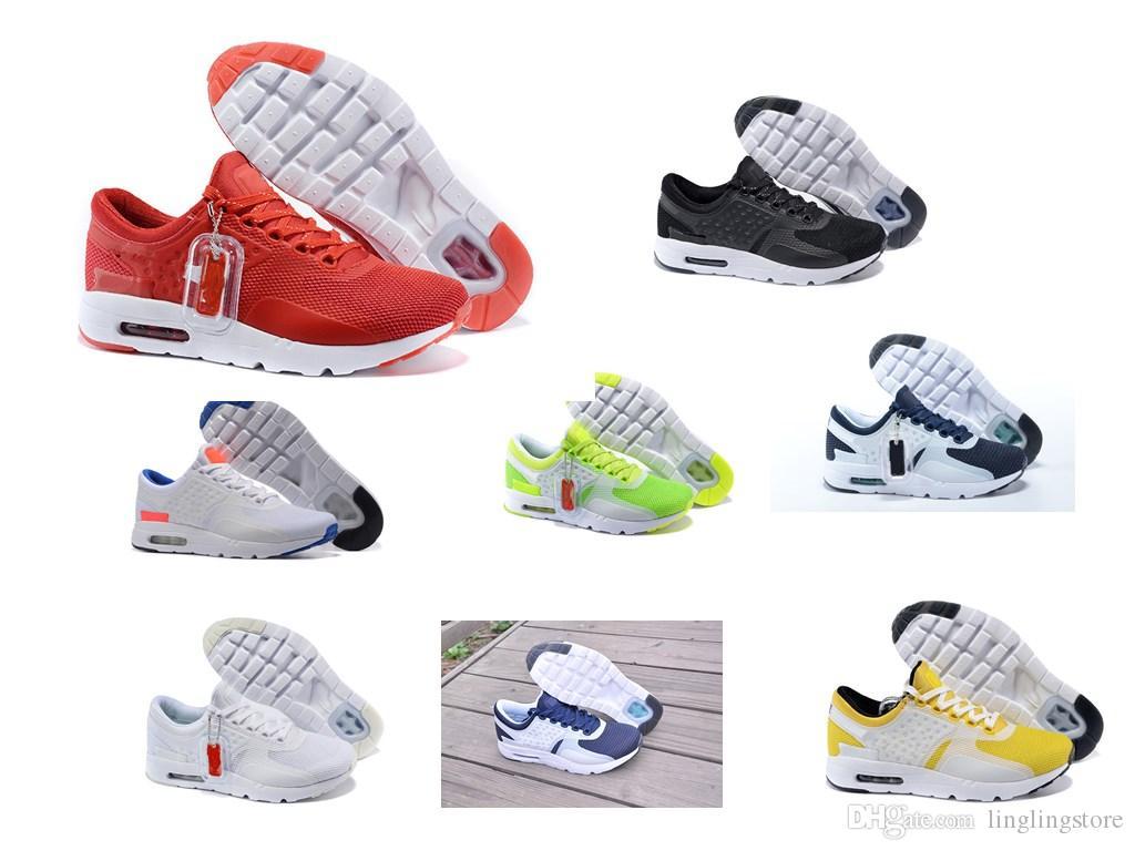 buy popular 10156 0e508 Compre Nike Air Max Zero Essential 87 NUEVA Zero 87 2 Zapatillas Para  Hombres De Las Mujeres, Deporte Atlético Respirable De Calidad Superior  Zapatillas Al ...