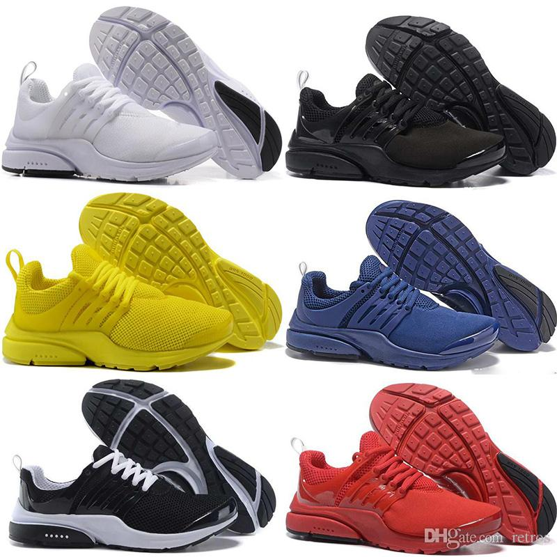 Prestos 5 Running Shoes Men Women Mesh Triple Black Yellow White Blue Red  Presto Ultra BR QS Designer Outdoor Casual Sport Trainer Sneakers Spikes  Shoes ... 24e5f92e21