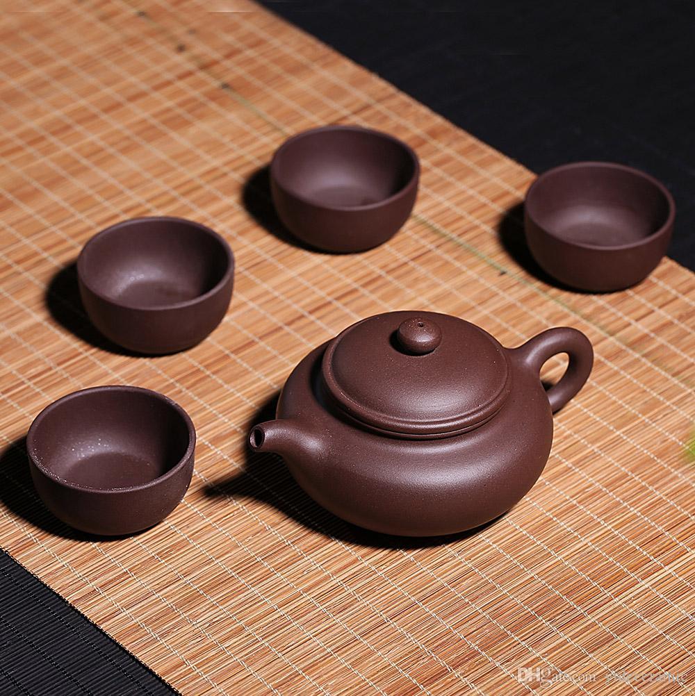 2019 Yixing Teapot Tea Set Chinese Yixing Purple Clay Tea Pot Tea