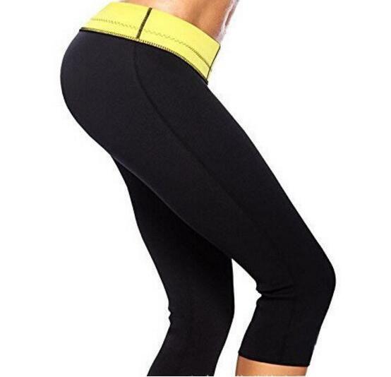 868f76c2d3 Hot Women Neoprene Slimming Pants Thermo Sauna Sweat Body Shaper Fat ...