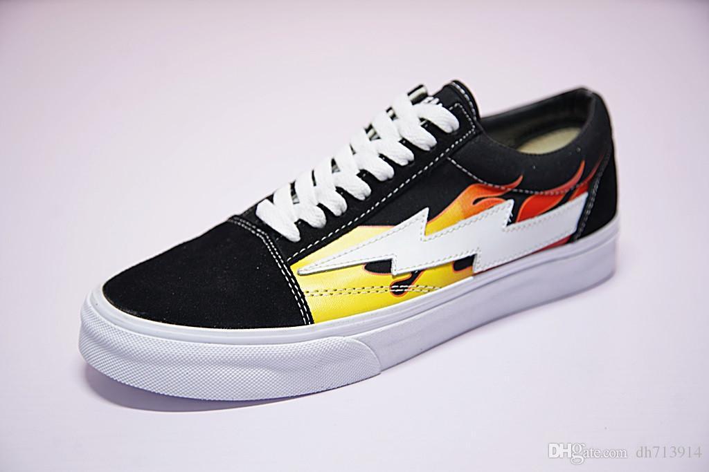 45eb075b724 2018 Revenge X Storm Old Skool Canvas Men Shoes Men s Sneakers ...