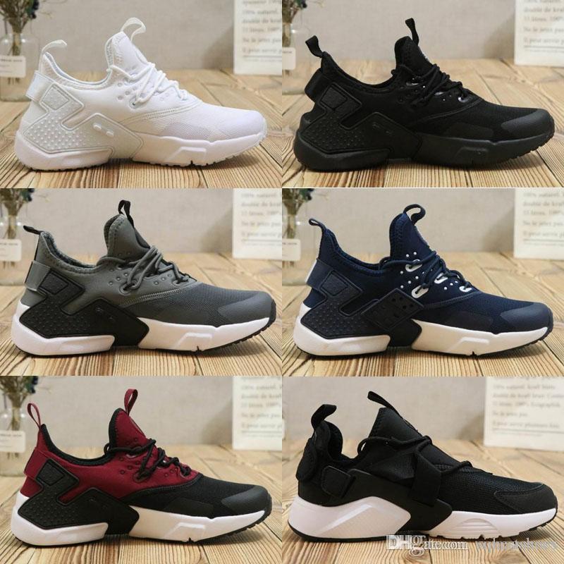 new products 47680 e73ad Nike Air Max Designer Shoes SuprNuevo Air Huarache 6 Hombres Zapatillas  Deportivas Negro Blanco Negro Zapatillas De Deporte Hombre Huaraches VI  Botas ...