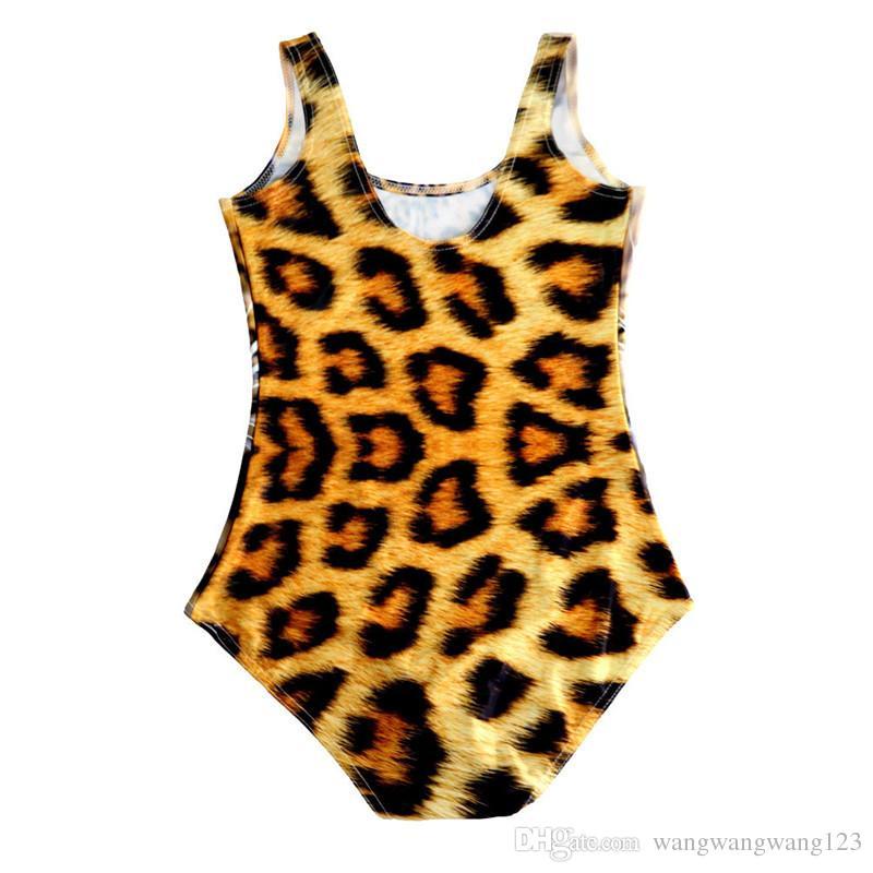 Europa Russia Giappone Australia Brasile Donne Sexy Tute Beach Body Tiger Leopard Giallo 3D Stampa Sassy Girl Teddy Skinny Swimwear