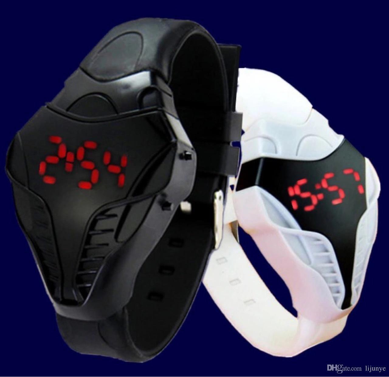 2018 New Digital LED orologi Smart Drone Digital Watches 24 ore in modalità calendario calendario sportivo sportivo orologi relogio masculino