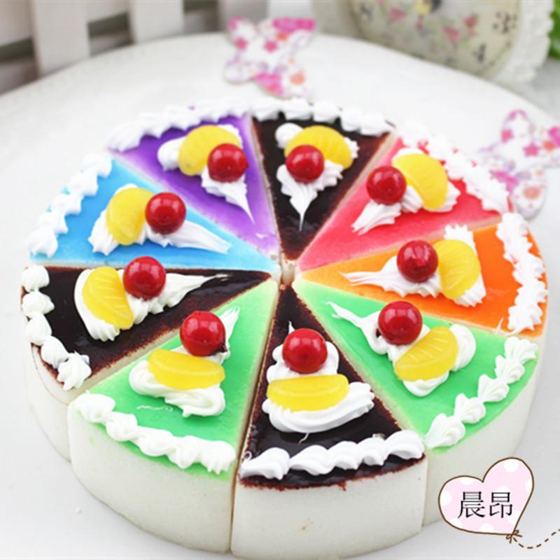 Hot Spot Koreanischen Niedlichen Kuhlschrank Simulation Kuchen