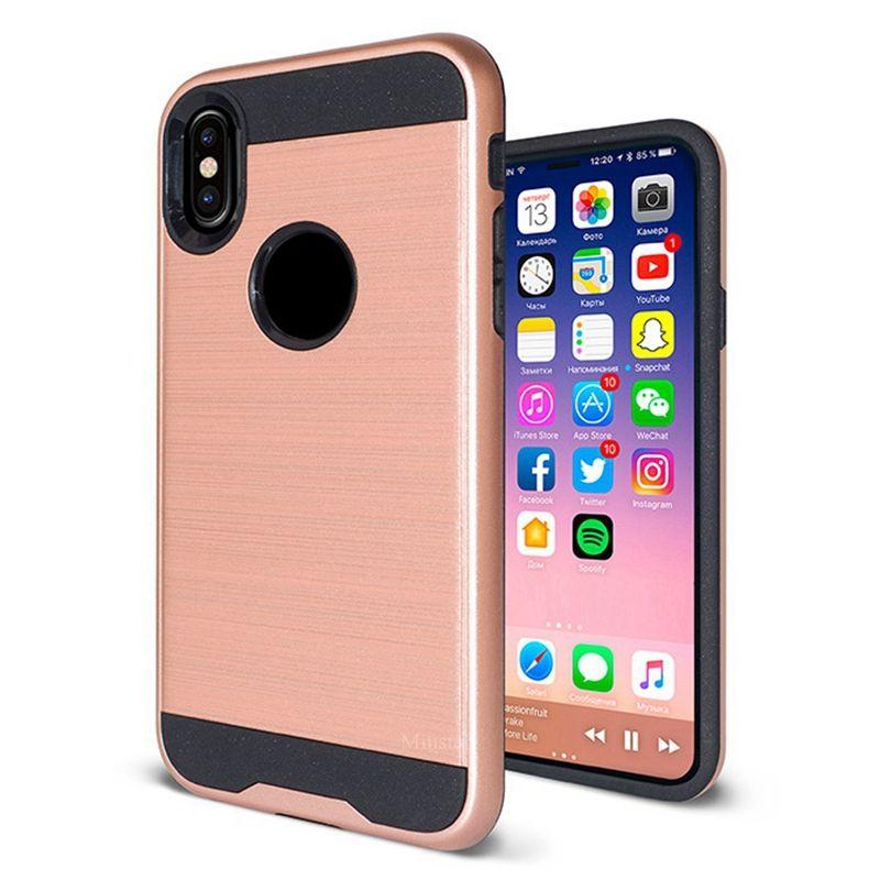 d096262ee63 Fundas De Telefono Estuche De Metal Pulido Para Samsung M10 M20 M30 A10 A20  A50E A20E A20 Core A60 A70 J3 J7 Estrella 2018 Prime Tiendas De Fundas De  ...