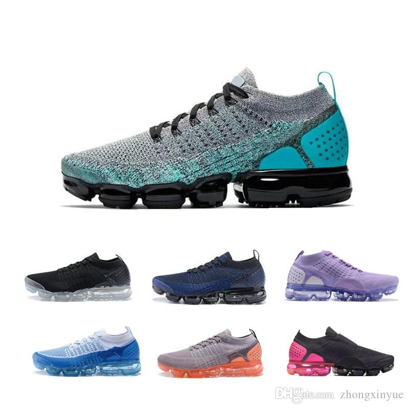 sale retailer e9d97 5b75b Hot Sale New Air CUSHION 2.0 Running Shoes For White Men And Women Triple  Black Rose Pink Black Purple White Sports Shoes Men Running Shoes Best  Running ...