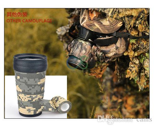 New Arrival Bionic Camouflage Adhesive Tape Adhesive Hot Melt Multi Colors 2016 With Good Quality CL33-0092