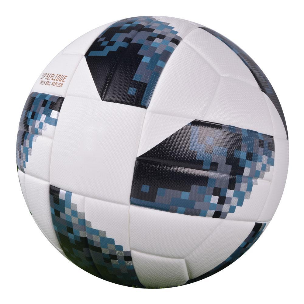 Compre 2018 Premier Soccer Ball Tamaño Oficial 4 Tamaño 5 Football League  Exterior Pu Goal Match Bolas De Entrenamiento Regalo Personalizado Futbol  Topu A ... f12d0064bd9cd
