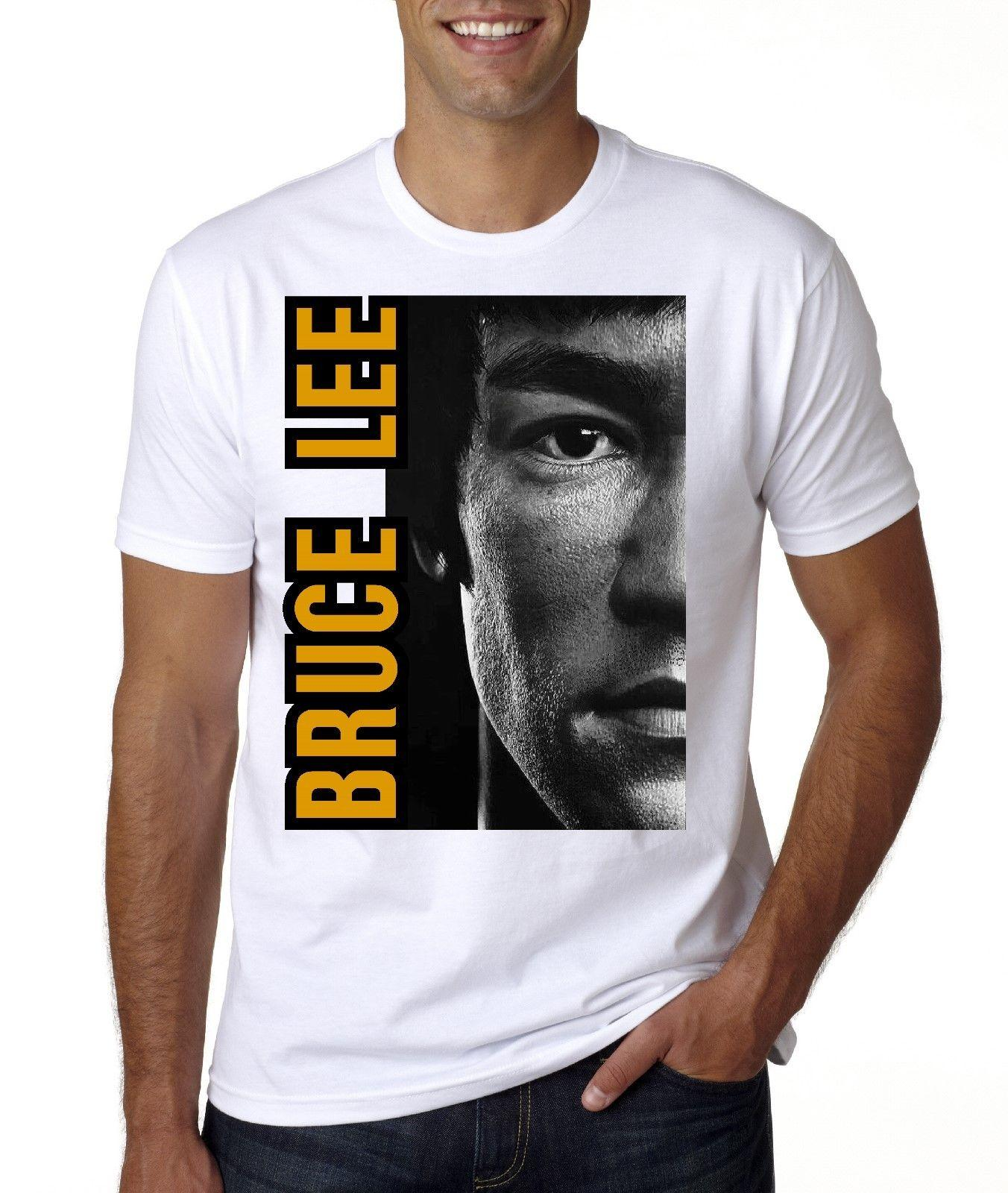 NEW BRUCE LEE T SHIRT SIZES FROM MED 3XL Design 1 T Shirt Good T Shirt  Sites From Perfecttshirts34 431afb4b3