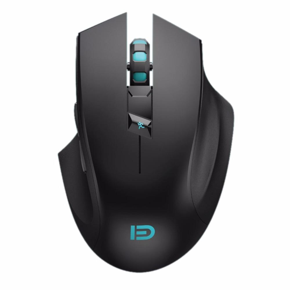 b07d5704118 Super Quiet I720 Wireless Gaming Mouse 2400DPI Rechargeable Computer ...
