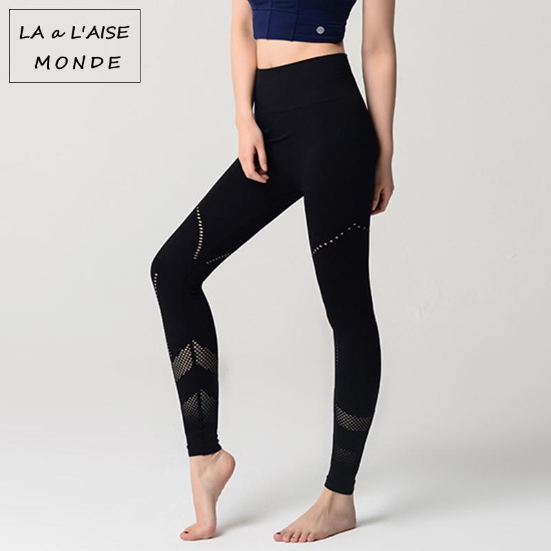 Beste Sportlegging.Grosshandel Sportlegging Training Leggins Aushohlen Yoga Hosen Frauen