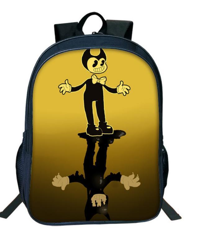 33372a196b81 Hot Cartoon Bendy And The Ink Machine Backpack For Students Bendy And Boris Kids  Backpacks Teens Boys Girls Children School Bags 13 Ladies Handbags Book ...