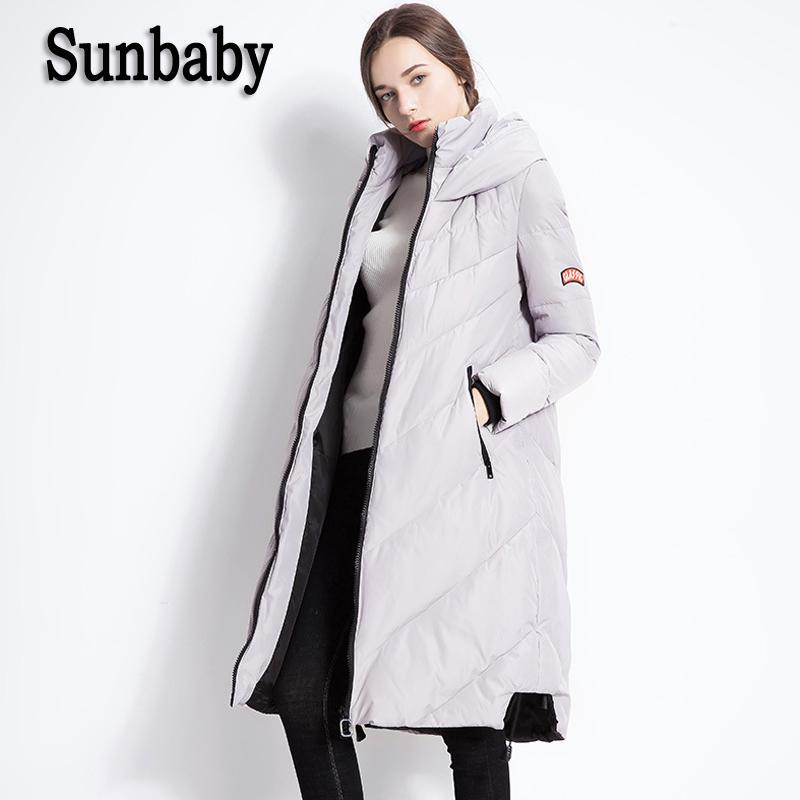 4470c74af7193 2019 Sunbaby Winter Maternity Down Coats Fashion Warm Thick Maternity Coat  Parka Duck Down Hooded Jacket For Pregnant Women From Jeanyme, $92.15 |  DHgate.
