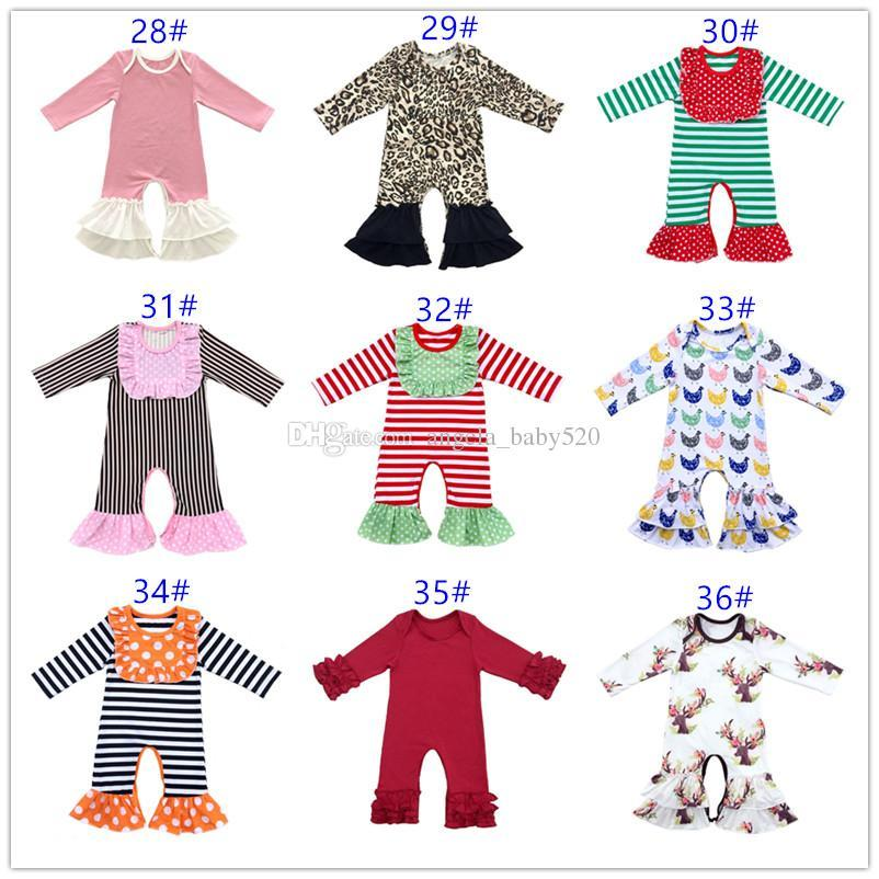 603510280a4 2019 Boutique Vintage Floral Newborn Baby Boy Romper Baby Girl Long Sleeve  Jumpsuit