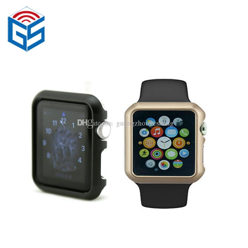 best authentic be64a 73029 For Apple Watch Series 1 2 3 38mm 42mm Aluminum Alloy Case Bumper Frame  Cover Toys 2019