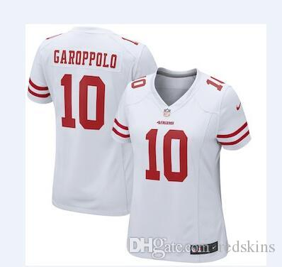 2018 Jimmy Garoppolo Jersey San Francisco 49ers Ronnie Lott Joe Montana  Custom Authentic Elite American Football Jerseys Women Mens Youth Kids 4x  From Us666 ... 46780a8d1