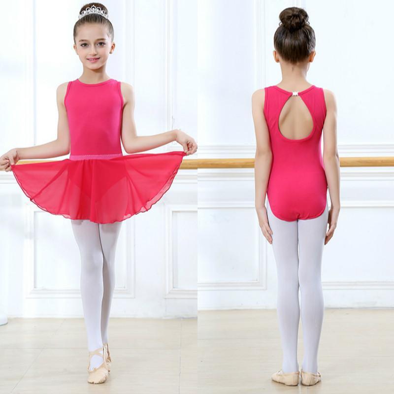 bf9e63d8e Toddler Girls Ballet Dress short Sleeves Athletic Dance Leotards Dress  Ballet Gymnastics Leotards Acrobatics for Kids Dance Wear