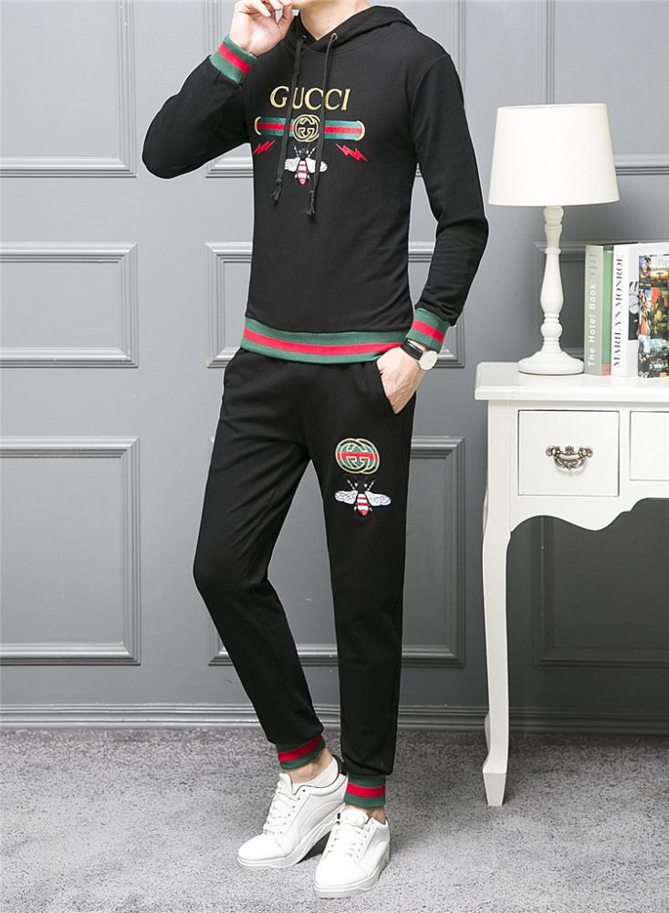 f749fec5389 Hooded Sweatshirt Autumn New Product Leisure Time Motion Suit Male ...