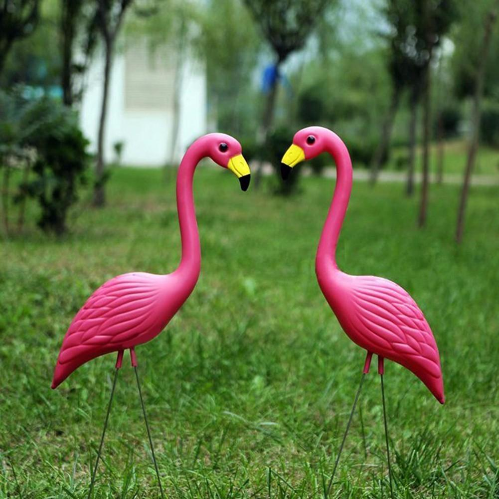 online cheap pe lifelike artificial flamingo ornament for home garden yard lawn art christmas wedding ceremony decoration by china_smoke dhgatecom