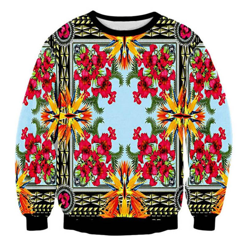 90aa0137ab452 2019 Runway Shows Royal Court Golden Red Flower Beautiful Print 3D Hoodies  Unisex Women Sweatshirts Sudaderas Femme Clothes Tops 5XL From Lorsoul