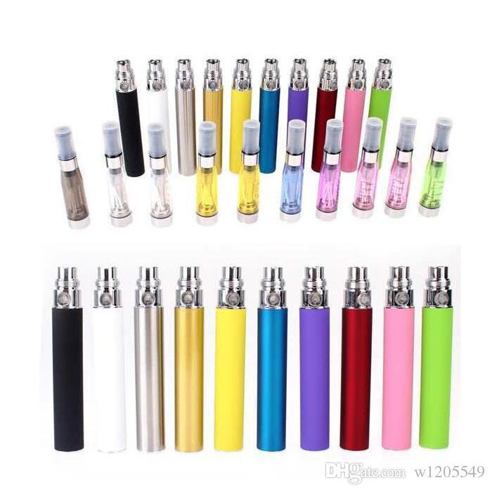Ego-starter kit CE4 Green card atomizzatore e kit cig 650mah 900mah 1100mah EGO-T blister batteria Clearomizer E-cigarette Dhl