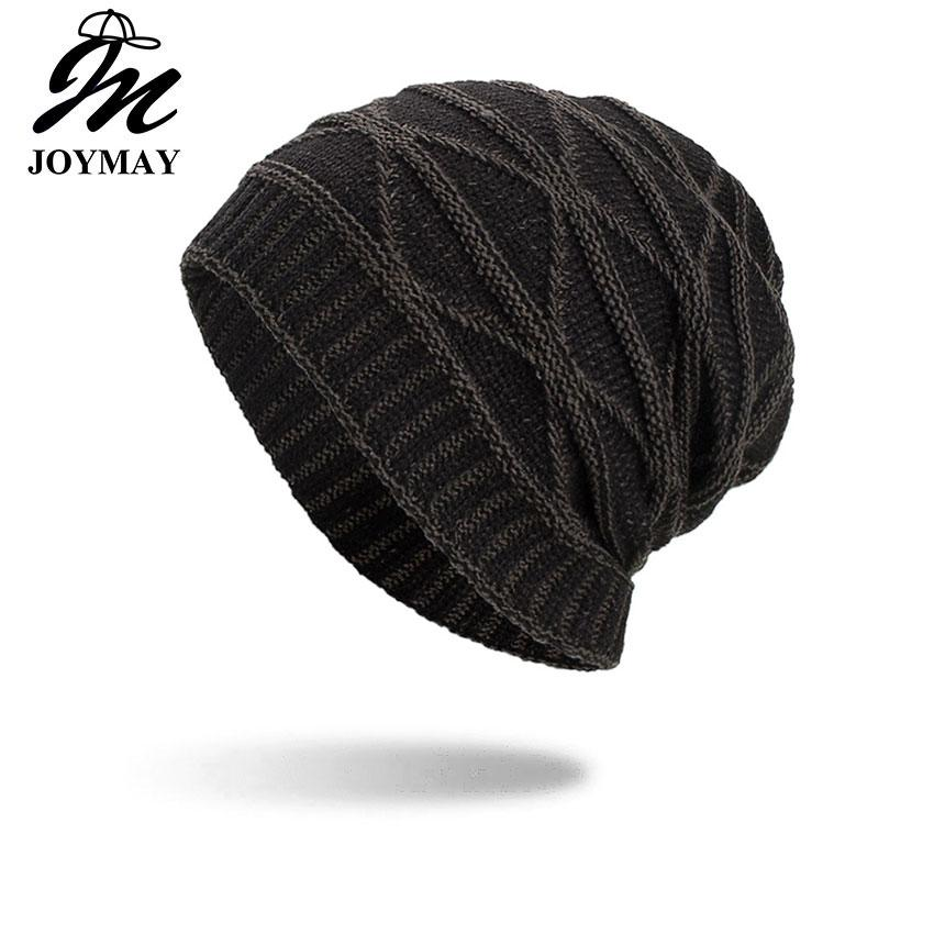 Joymay Two Way Wearing Winter Beanies Hat Disorderly Color Unisex Plain  Warm Soft Skull Knitting Cap Hats Wholesale WM089 Knit Cap Slouch Beanie  From ... 3259190a14a