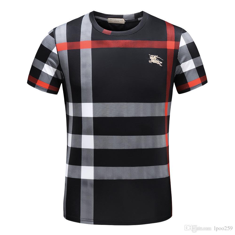 New Luxury Italy Tee T Shirt Designer Polo Shirts Short Sleeve