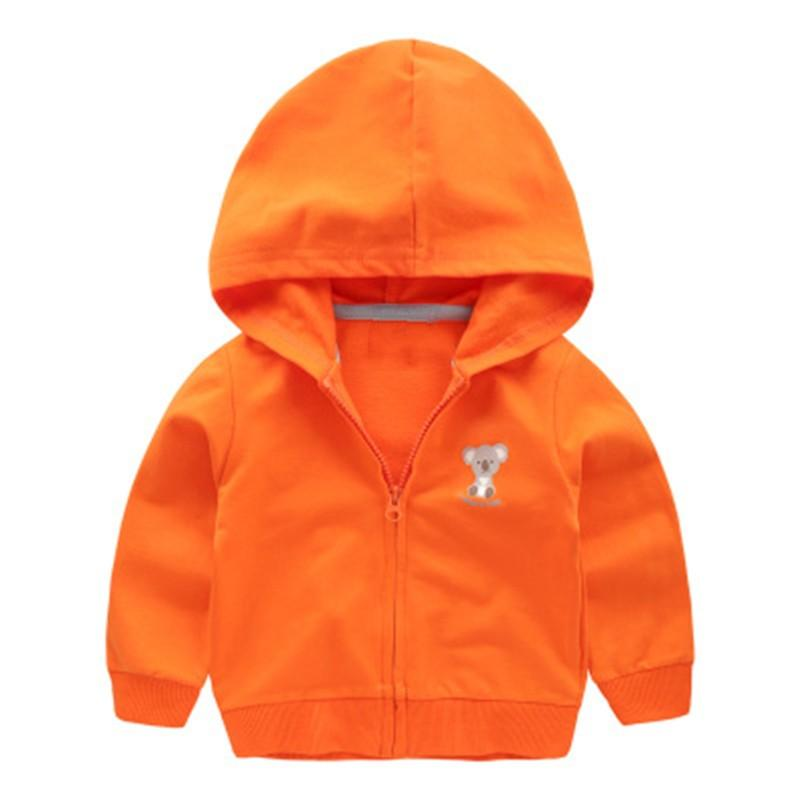 Boys Coat Casual Children Hoodies Sweater Brand 2017 Spring Autumn Teenage Baby Boys Jackets Solid Kid Clothes For Boys Girls